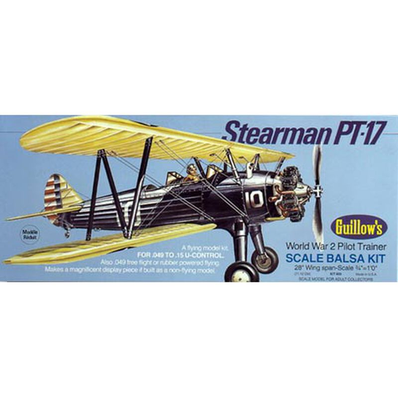 Stearman PT-17 Kit, 28""