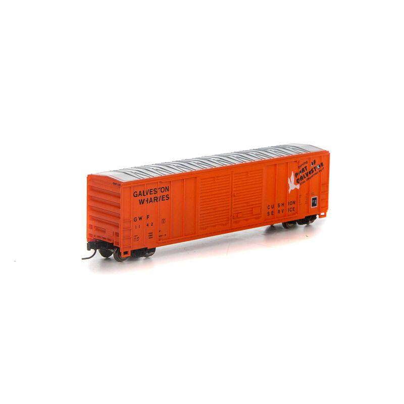 N 50' FMC Double Door Box GWF #1142
