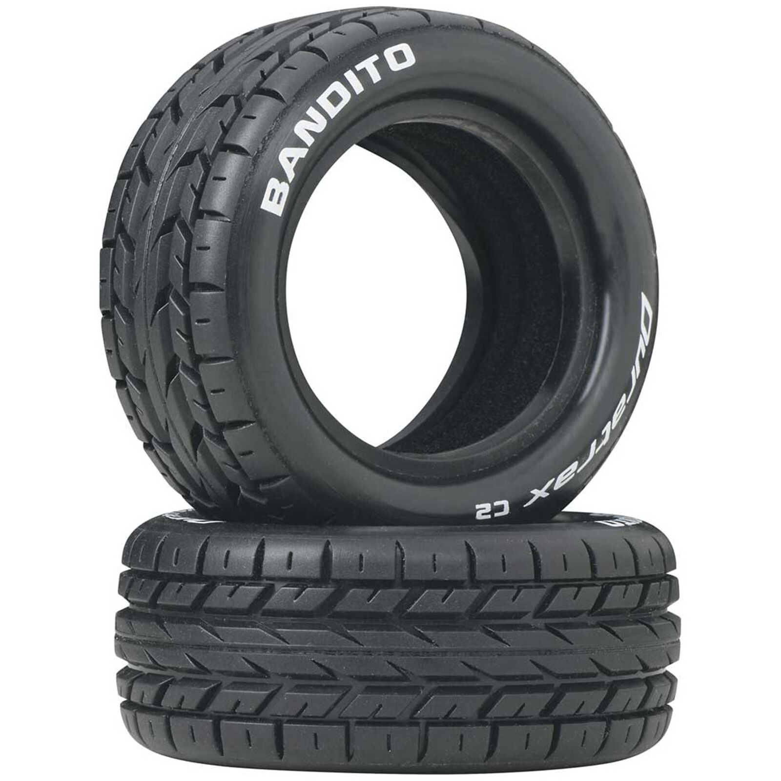 Bandito 1/10 Buggy Tires Front 4WD C2 (2)