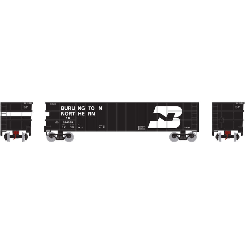 N Thrall High Side Gondola with Load BN #574555