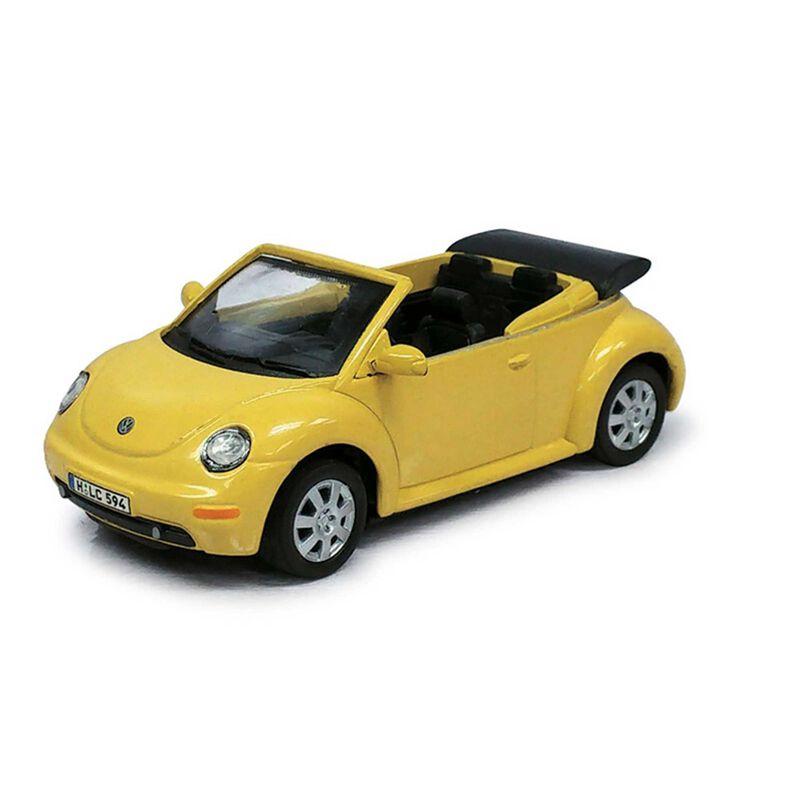 Cararama 1 43 VW Beetle car, Yellow