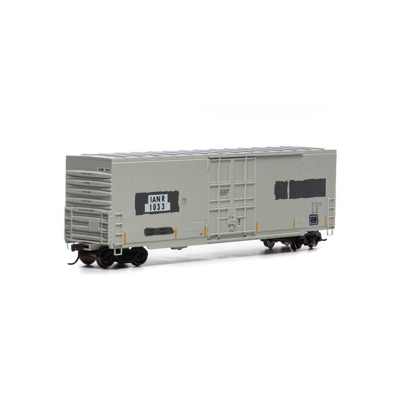 HO 50' Smooth High Cube Plug Door Box, IANR #1033