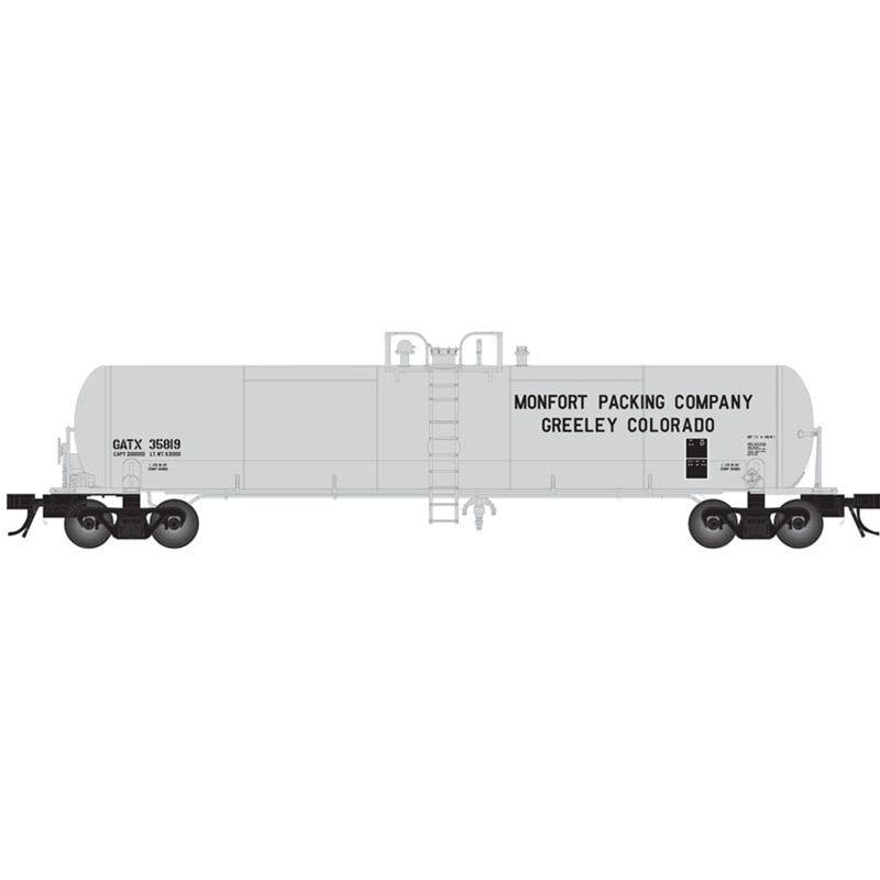 HO 20 7000-Gallon Tank Monfort Packing #35817