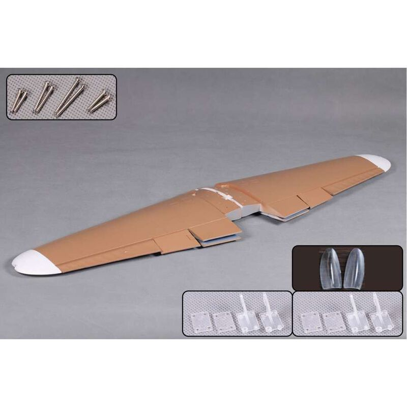 Main Wing Brown  BF109 1400mm
