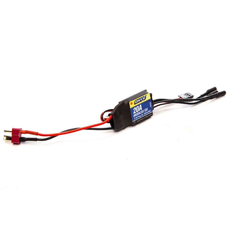20 Amp 2-3S Programmable Brushless AIR ESC