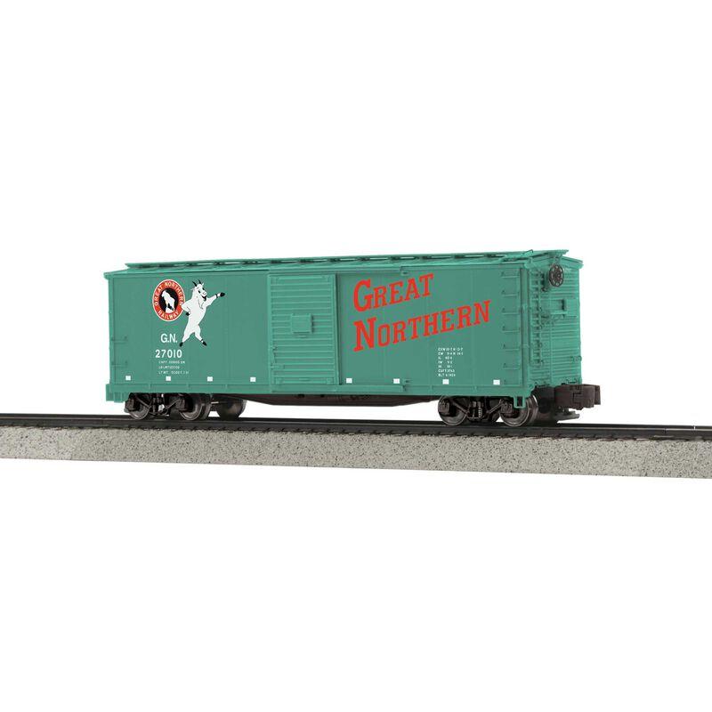 Rebuilt Steel Box Car Hi-Rail Wheels GN #27010