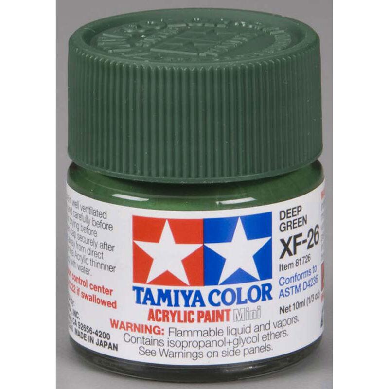 Acrylic Mini XF26, Deep Green