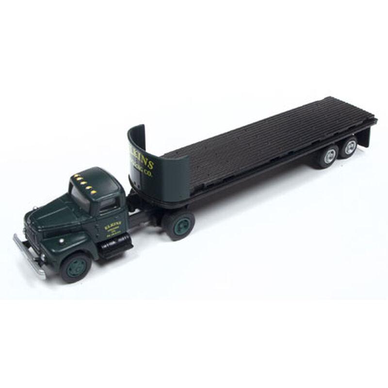 HO IH R-190 Tractor Trailer Set Elkins Logging Co