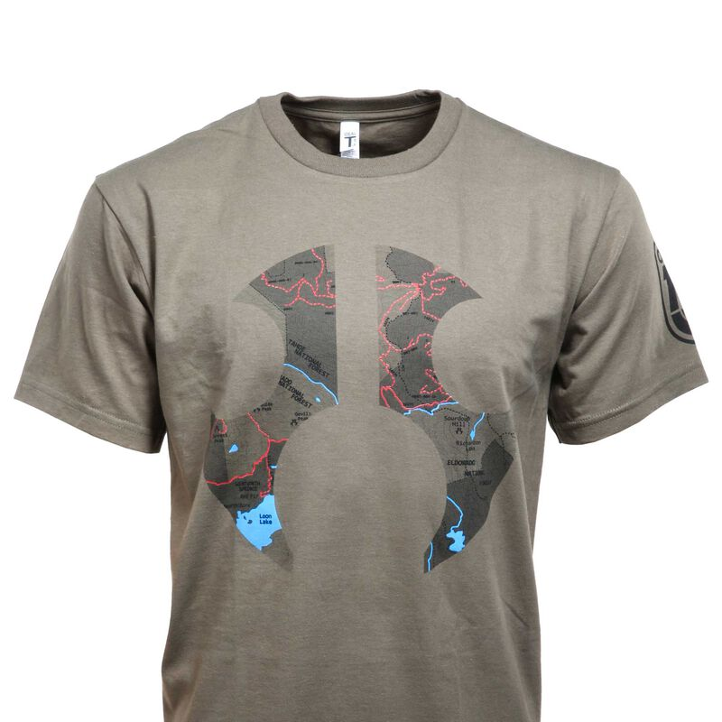 Topography Shirt, XX-Large