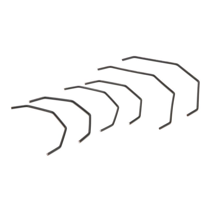 Sway Bar Set, Thick, Front/Rear: SCTE/2.0