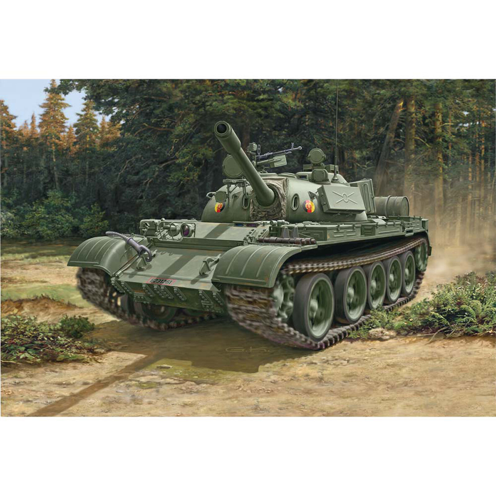 1/72 T-55A