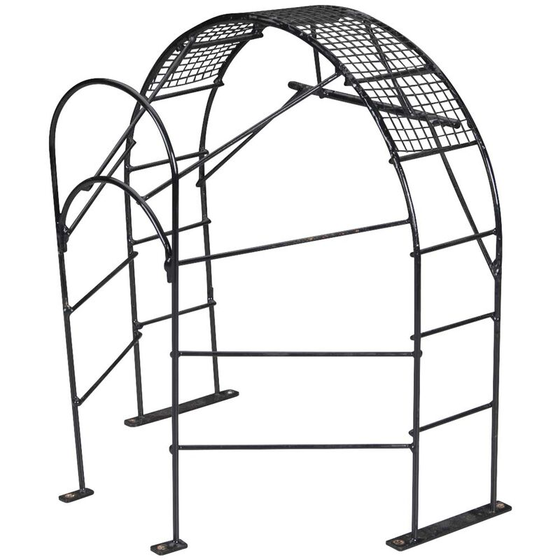 Prop Cage, Painted Steel: Alligator Tours