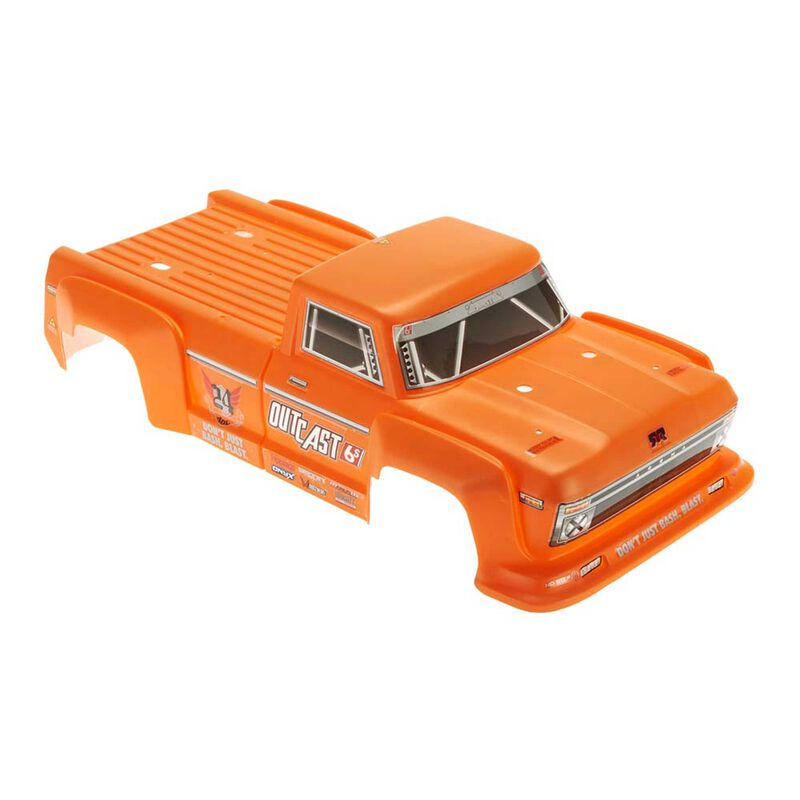 1/8 Painted Body, Orange: Outcast 6S
