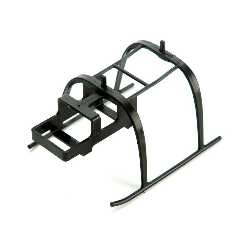 Landing Skid and Battery Mount: mCP X BL