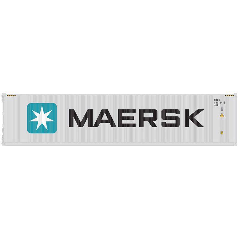 O 40' Container Maersk MRKU 5193122/5347172