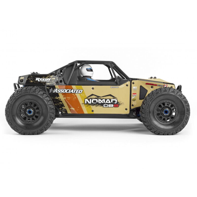 1/8 Limited Edition Nomad DB8 4WD Buggy Brushless RTR LiPo Combo, Beige