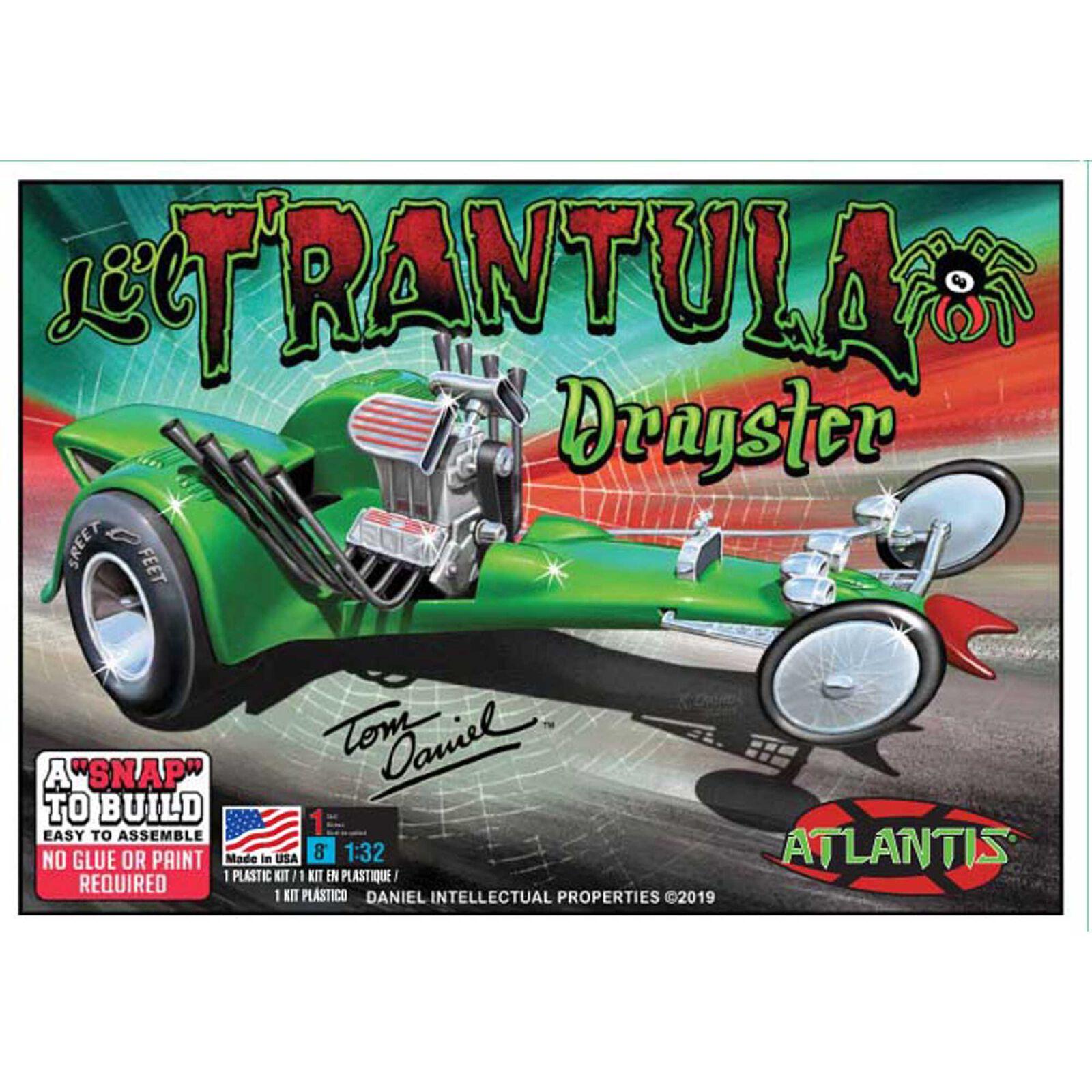 Tom Daniel Lil Trantula Show Rod Snap 1/32