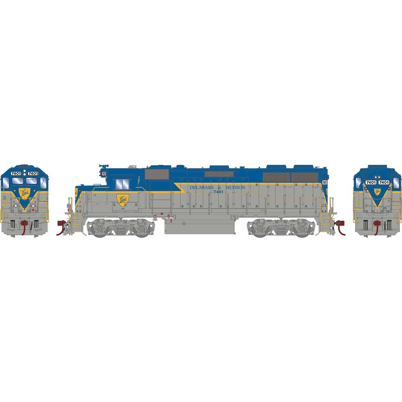 HO GP39-2 D&H #7401