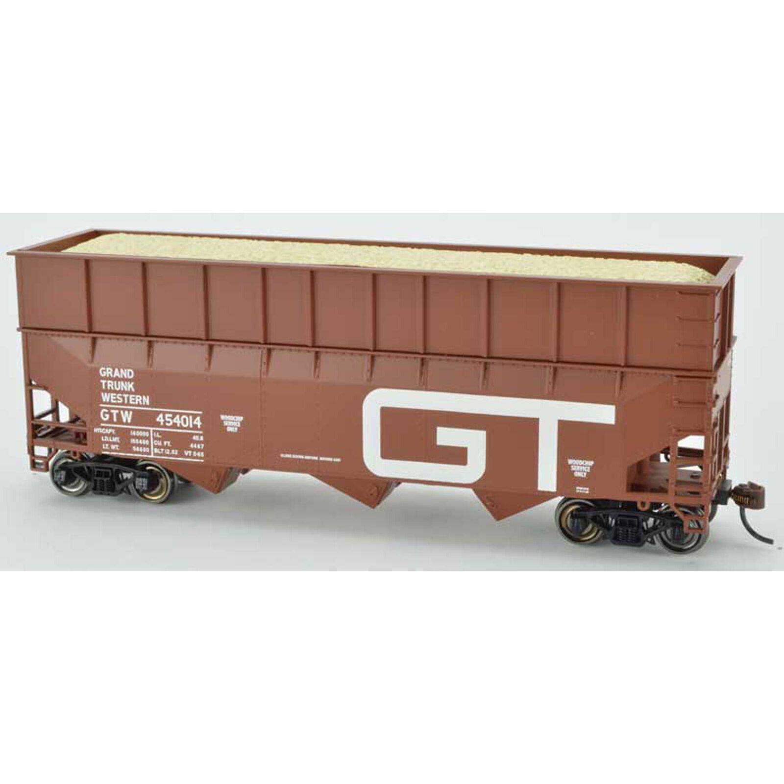 70 Ton Wood Chipper Car Ready to Run HO GTW 454011