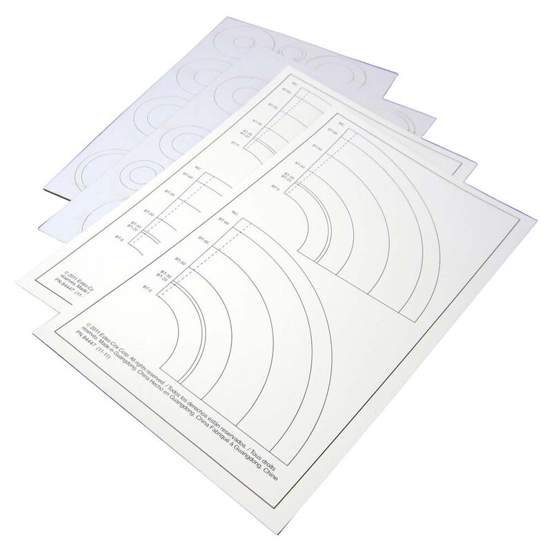 Laser Cut Centering Rings Paper Adapters (4)