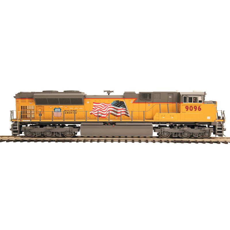 HO SD70ACe with PS3 UP #9096