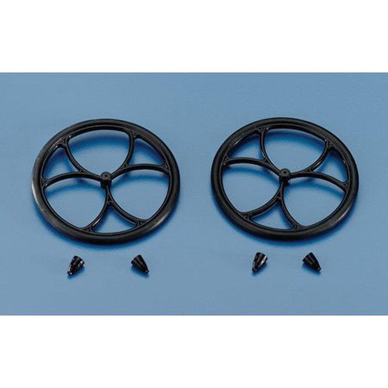 "Micro Lite Wheels, 1-1/2"" (2)"