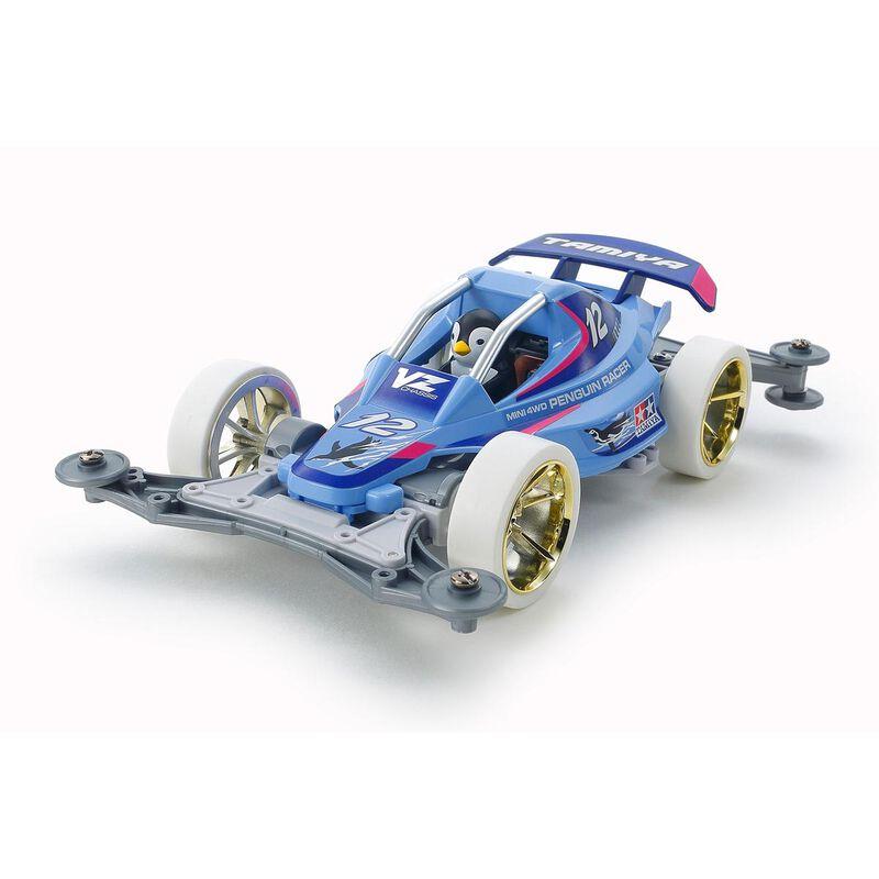 Mini 4WD Penguin Racer