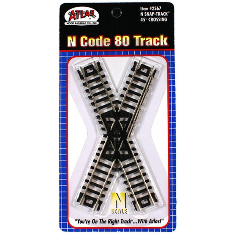 N Code 80 45 Degree Crossing