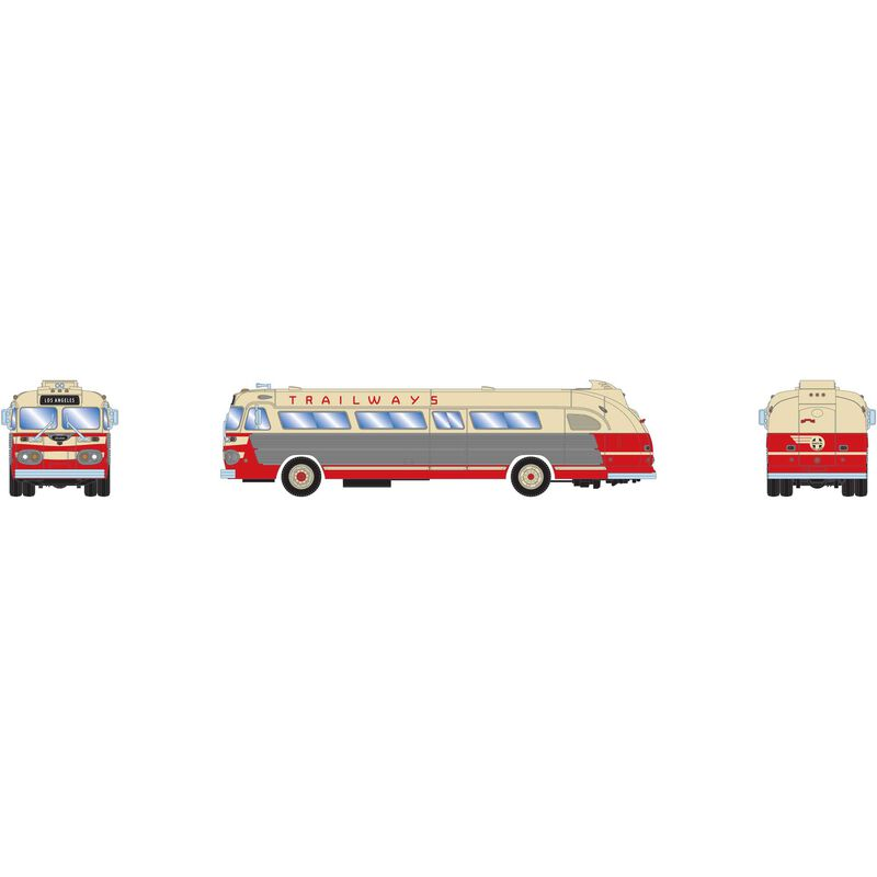 N Intercity Bus Santa Fe Trailways LA #1