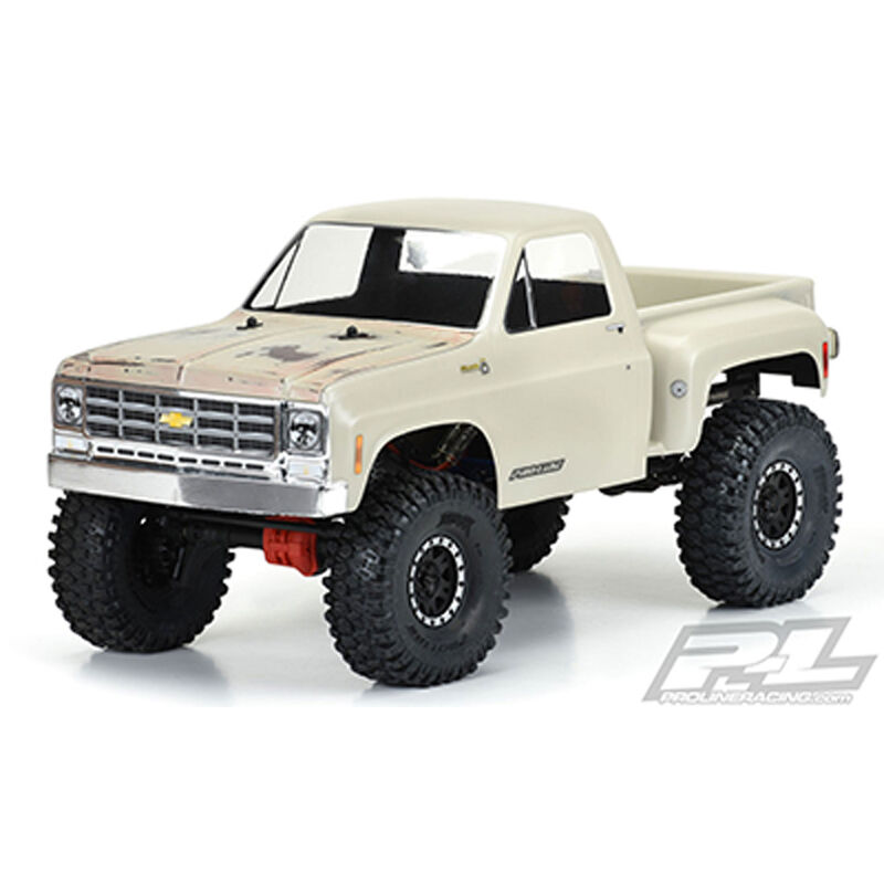 Clear Body, 1978 Chevy K-10 with 12.3 Wheelbase: 1/10 Rock Crawlers