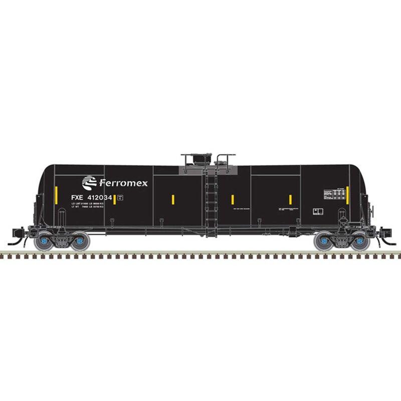 Oil Tank Car Ferromex+ 412017