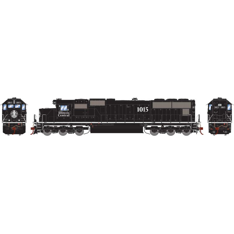 HO SD70 with DCC & Sound, IC #1015