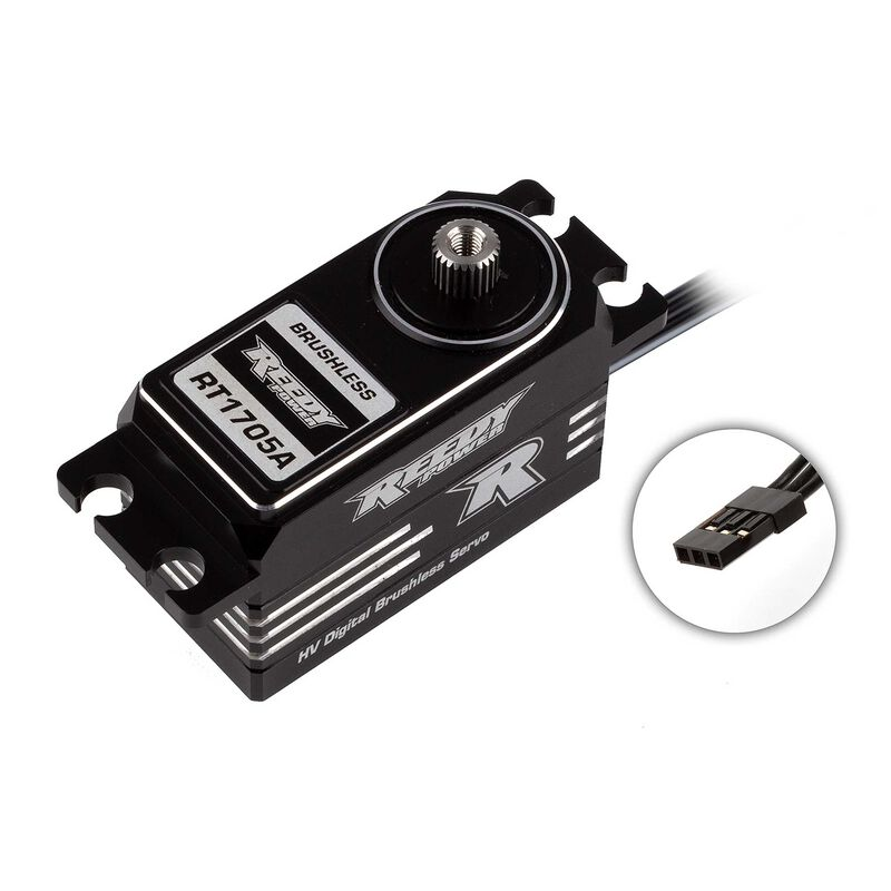 RT1705A Digital HV Aluminum Brushless Low-Profile Servo