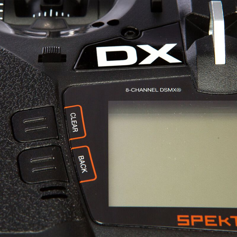 DX8e 8-Channel DSMX Transmitter Only