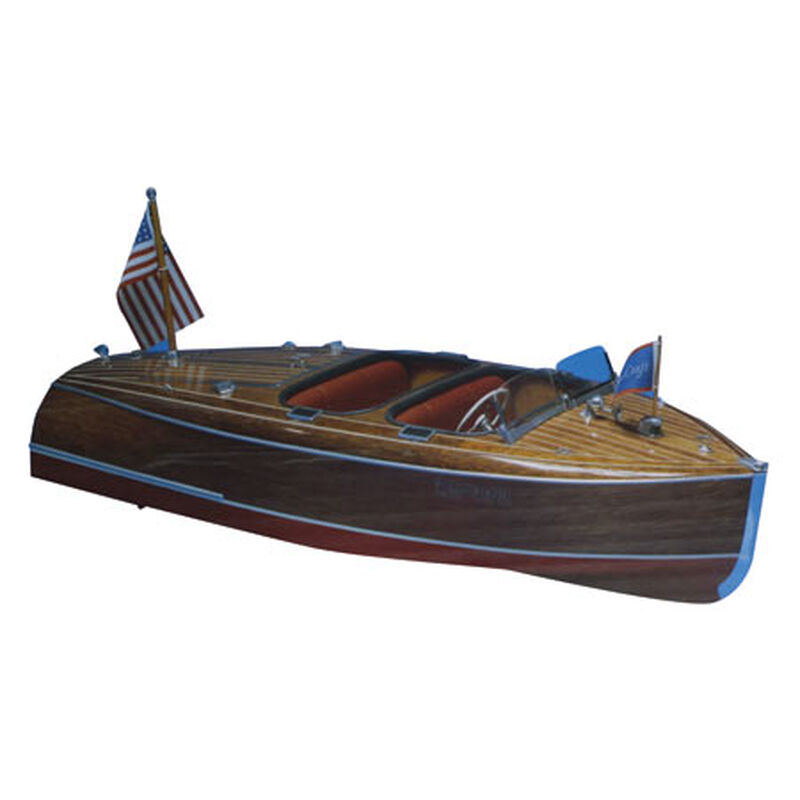 1/8 1940 Chris-Craft Barrel Back Boat Kit, 28""