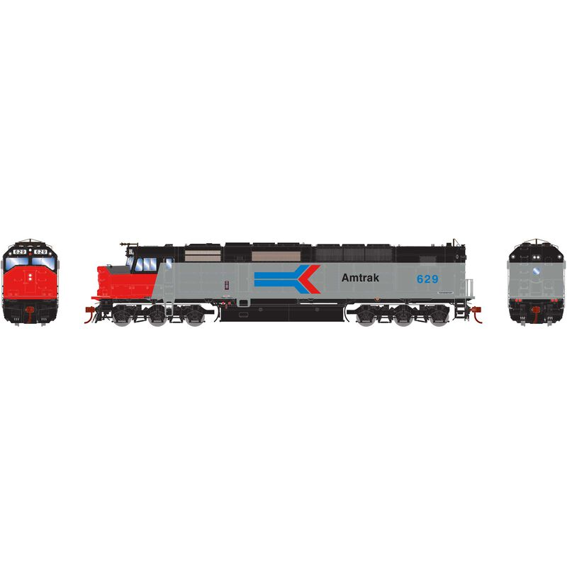 HO SDP40F Amtrak #629
