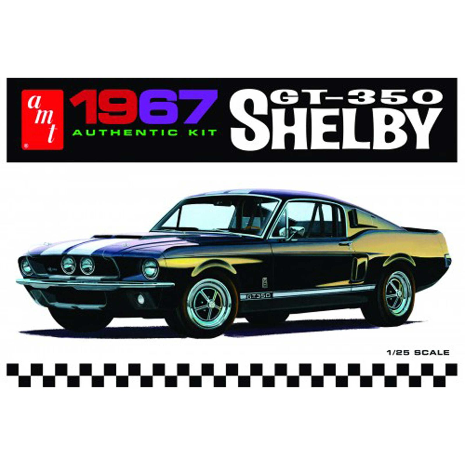 1/25 '67 Shelby GT350, White