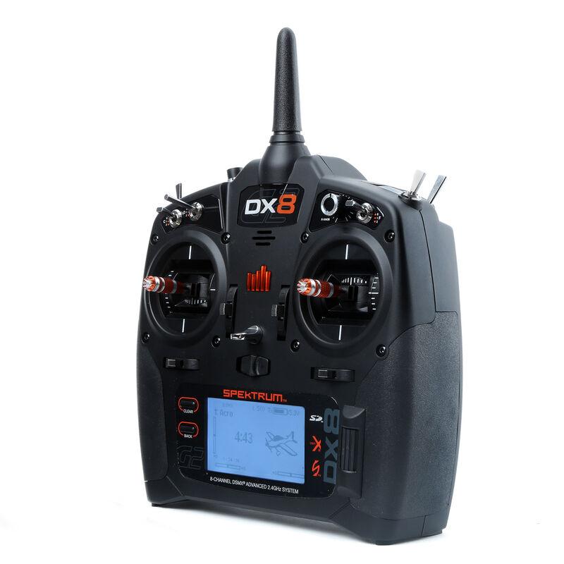 DX8 8-Channel DSMX Transmitter Gen 2 with AR8010T