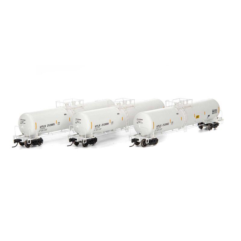 N 30,000 Gallon Ethanol Tank UTLX White #3 (3)