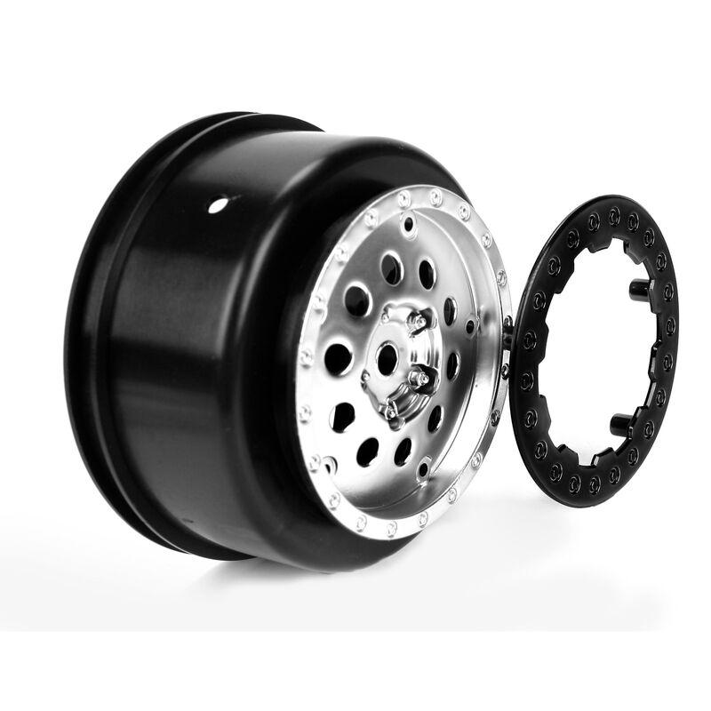 1/10 Front 2.2/3.0 Wheels, 12mm Hex (2): XXX-SCT, SCB
