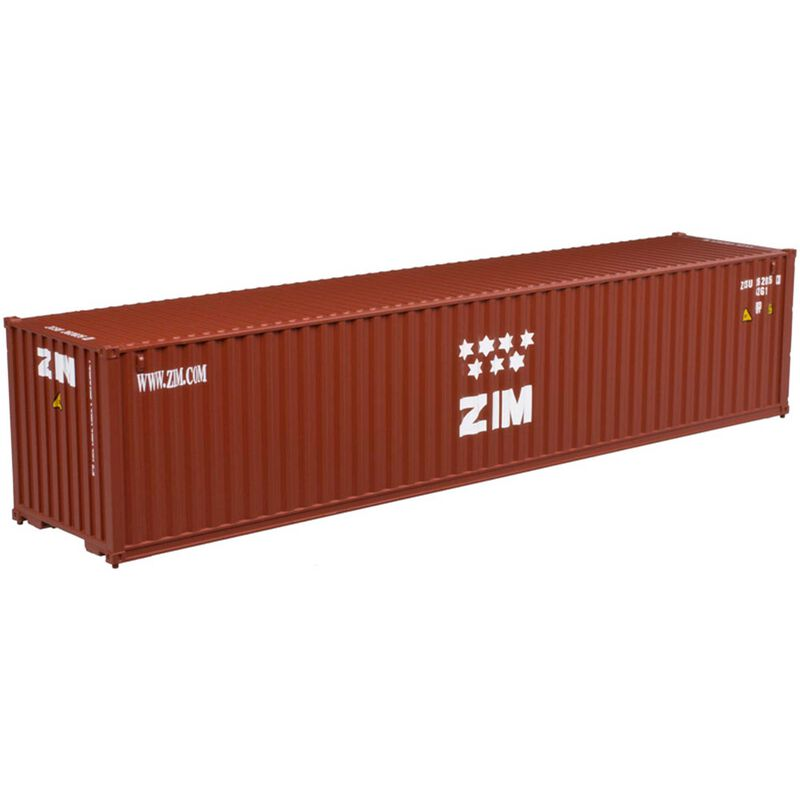 HO 40' Standard Container Undec 0-3-0 OUT Doors