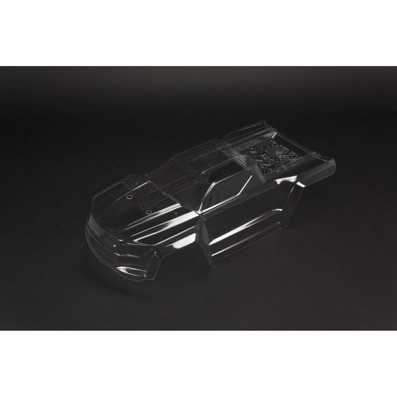 Clear Body with Decals: Kraton 6S BLX