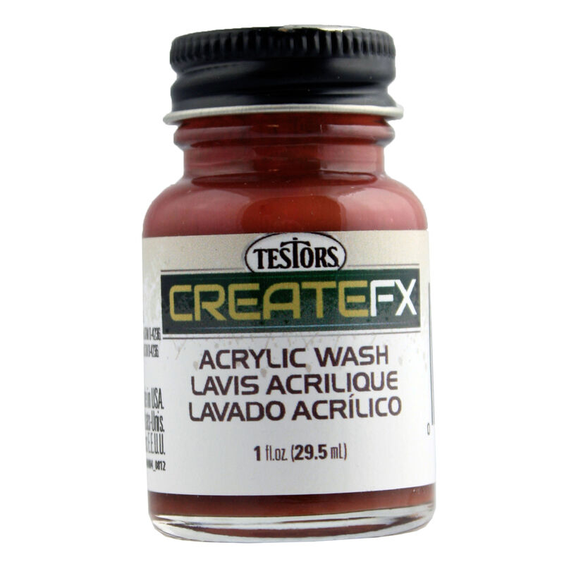 FX Acrylic Wash Mahogany 1 oz, Tri