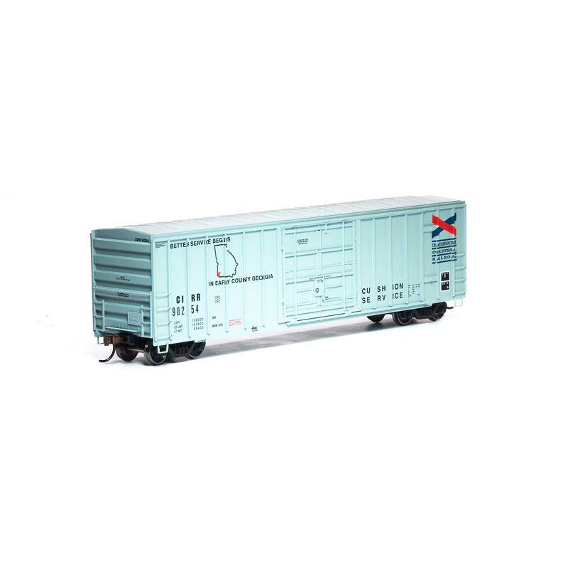 HO RTR 50' FMC Superior Plug Door Box CIRR #90254
