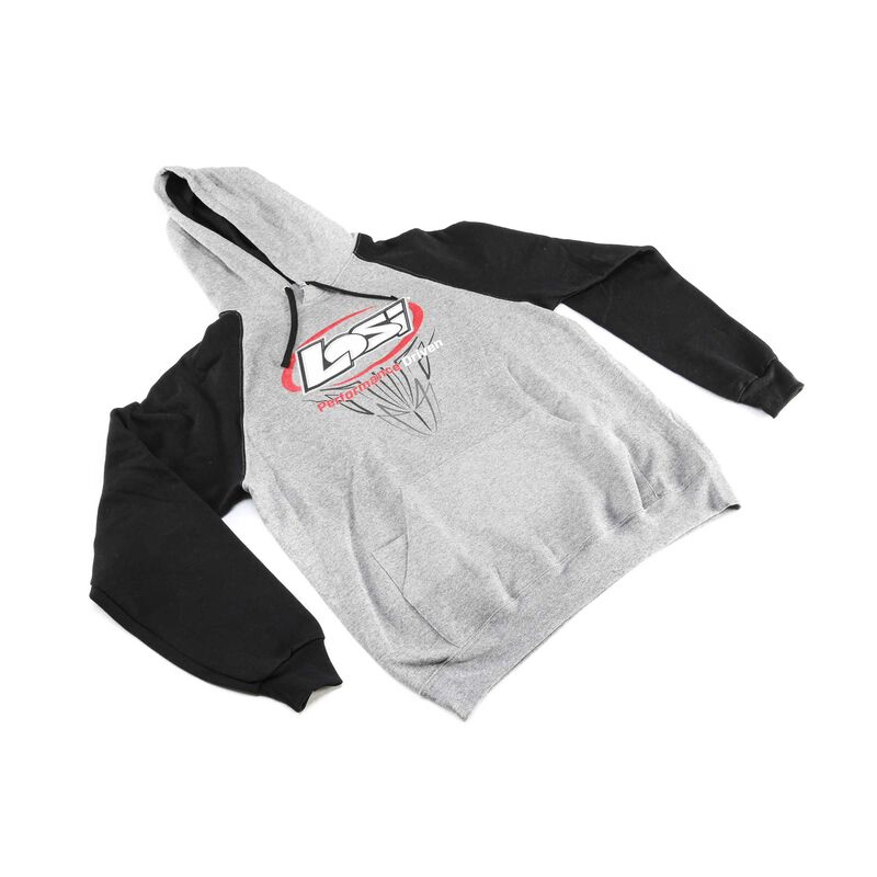 Performance Driven Gray & Black Sweatshirt, Large