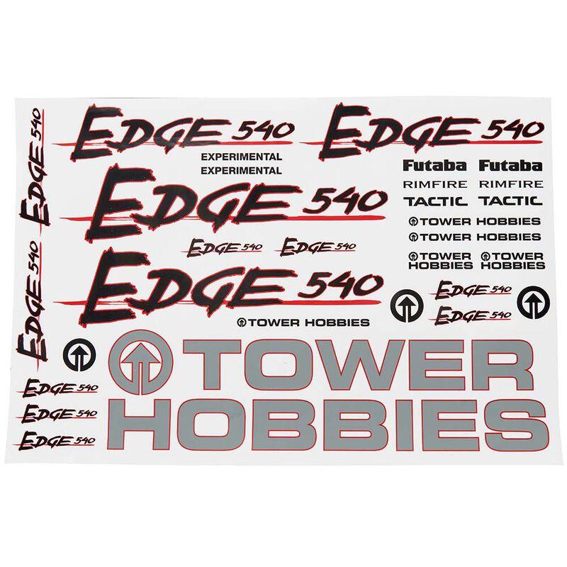 Decals Edge 540 .46 GP EP ARF