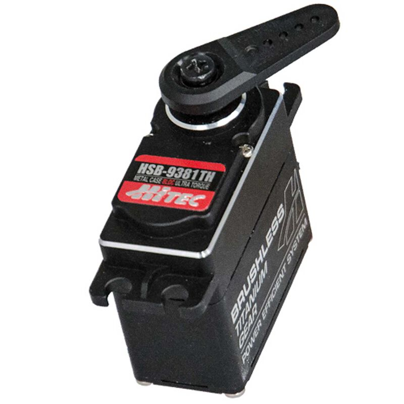 HSB-9381TH Standard Digital Ultra Torque Brushless Titanium Gear Servo