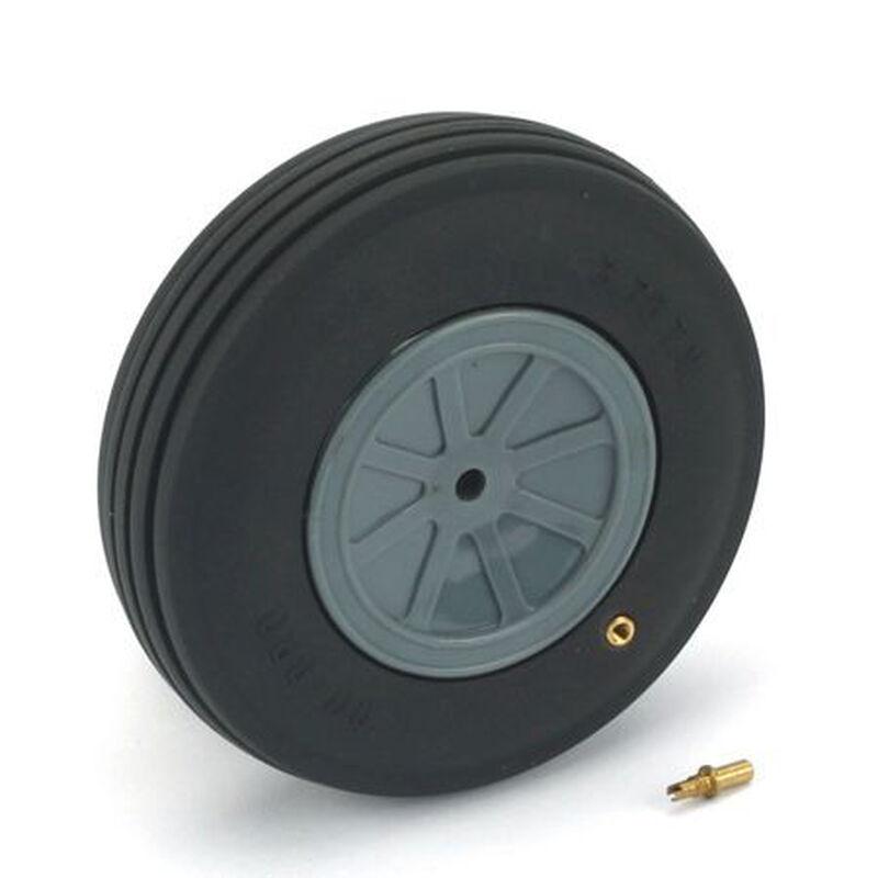 "Treaded Wheel, 4"", Large Scale (1)"
