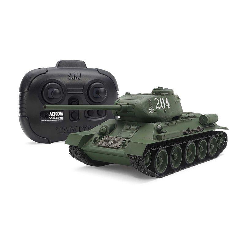 1/35 R/C Russian Med Tank T-34-85 (w/Control Unit)