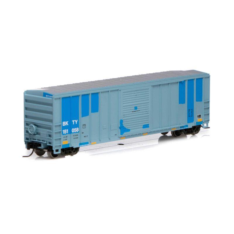 N 50' FMC 5347 Box UP BKTY #151058